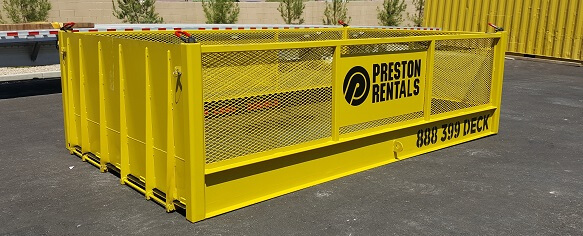 Preston Rentals Cage