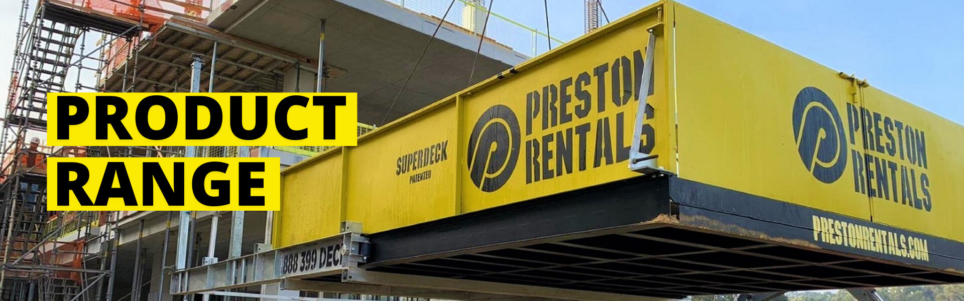 Preston Rental Products